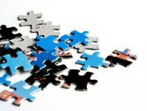 Rompecabezas de rompecabezas Imágenes de archivo libres de regalías