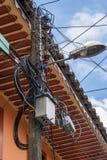 Rompecabezas del cable Foto de archivo libre de regalías