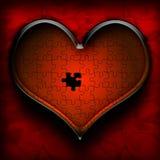 Rompecabezas del corazón Imagen de archivo libre de regalías