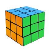 Rompecabezas del cubo Fotografía de archivo libre de regalías