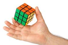 Rompecabezas del cubo disponible Imágenes de archivo libres de regalías
