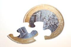 Rompecabezas del dinero en circulación Imagen de archivo libre de regalías