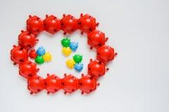 Rompecabezas del juguete de los niños Imagen de archivo libre de regalías