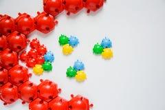 Rompecabezas del juguete de los niños Imagen de archivo