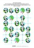 Rompecabezas del sudoku de la imagen, osos de panda temáticos stock de ilustración