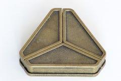 Rompecabezas del triángulo del arrabio  foto de archivo libre de regalías