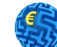 Rompecabezas euro Imagenes de archivo
