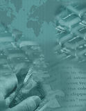 Rompecabezas global de Digitaces Imagen de archivo