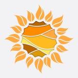 Rompecabezas soleado ilustración del vector