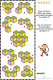 ¿Rompecabezas visual abstracto - cómo se hace?