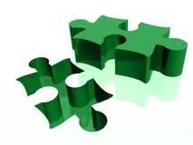 Rompecabezas y eliminación del rompecabezas ilustración del vector