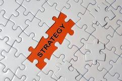 Rompecabezas y estrategia Fotografía de archivo