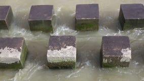 Rompeolas concreto de los polos almacen de video