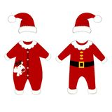 Romper suit. Christmas costumes for children Royalty Free Stock Image