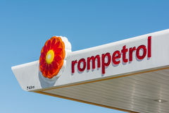 Rompetrol-Gas Stockfotos