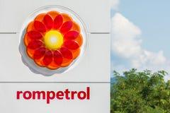 Rompetrol gaz Obrazy Royalty Free