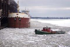 Rompighiaccio, nave, barca immagini stock