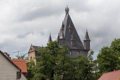 Romrod Hesse Alemania del castillo Imagen de archivo