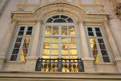 Roms künstlerisches Fenster lizenzfreie stockfotos