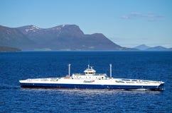 ROMSDALFJORD av Fjord1 Arkivfoto