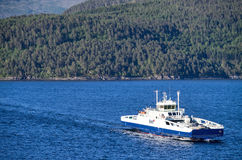 ROMSDALFJORD Fjord1 на Romsadalfjord, Норвегии Стоковое фото RF