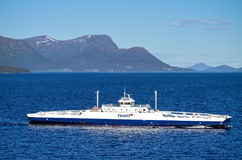 ROMSDALFJORD Fjord1 Στοκ Εικόνες