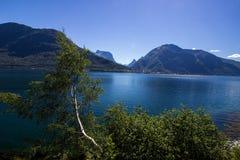 Romsdalsfjorden près d'Andalsnes en Norvège du sud Photos libres de droits