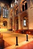 Romsey大教堂,汉普郡,英国 图库摄影