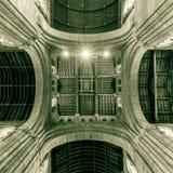 Romsey Abbey Cross Ceiling Imágenes de archivo libres de regalías