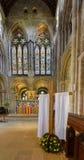 Romsey Abbey Lent Cross con l'altare Fotografia Stock