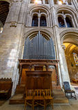 Romsey Abbey Organ Fotos de archivo