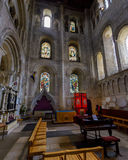 Romsey Abbey South Transept A Foto de archivo libre de regalías