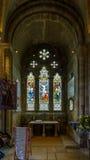 Romsey Abbey St Ethelflaeda Chapel Imagen de archivo libre de regalías