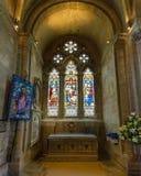 Romsey Abbey St Mary Chapel Fotografía de archivo