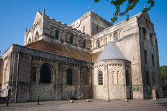 Romsey Abbey Stock Photo