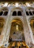 Romsey Abbey Triforium Gallery Foto de archivo libre de regalías