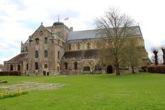 Romsey abbotskloster Arkivfoto