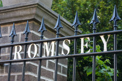 Romsey Gate Stock Image