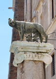 Romul and Remus statue in Rome Stock Image