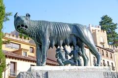 Romulus e Rémulo Imagem de Stock