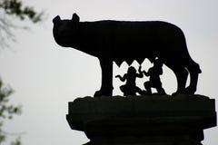Romulus e Remus Fotografia Stock