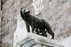 Romulus och Remus, Italien arkivfoto