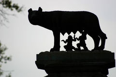 Romulus and Remus stock photography