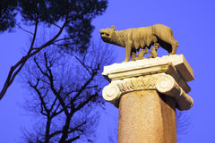 Romulus and Remus Royalty Free Stock Photo