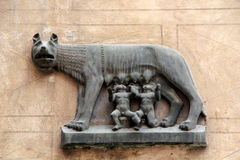 Romulus and Remus Stock Images