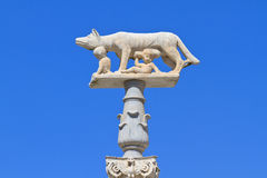 Romulus und Remus lizenzfreies stockfoto