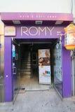 Romy shop in Jeju Stock Images