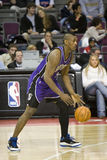 Ron Artest Dribbles The Ball Stock Image