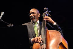 Ron Carter at Nishville. Ron Carter at the international jazz festival Nisville, Serbia Stock Photo