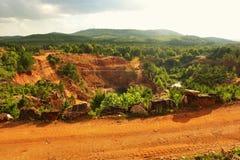 Ron Coleman Crystal Mine. At Jessieville, Arkansas Stock Image